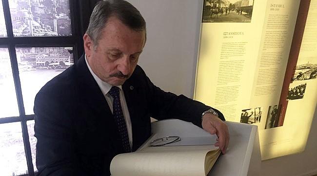 Sütlüoğlu, Selanik'te Atatürk'ün doğduğu evi ziyaret etti