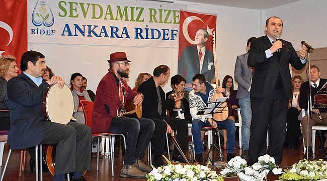Başkent'te Rize Türküleri ile müzik ziyafeti