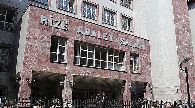 Rize'de 25 FETÖ sanığına hapis cezası