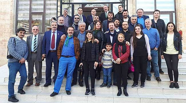 Karadenizli Gazeteciler Güneydoğu'nun Gönül Elçisi oldular
