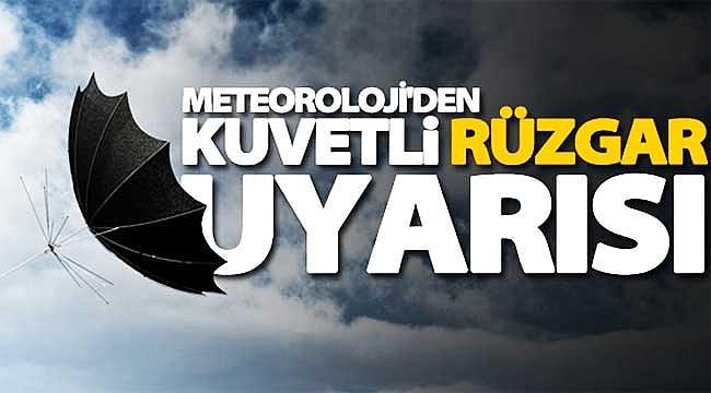 Rize'de sarı alarm: Kuvvetli rüzgar ve fırtına uyarısı