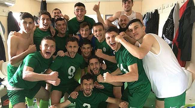 Çaykur Rizespor U19'dan 3 dakikada 3 puan