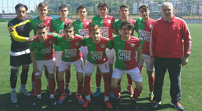 Çaykurspor U17, namağlup Play-Off'a yükseldi