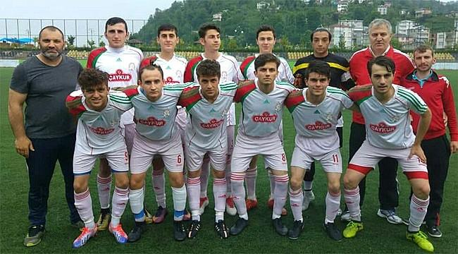 Çaykurspor U17 Rize Şampiyonu oldu