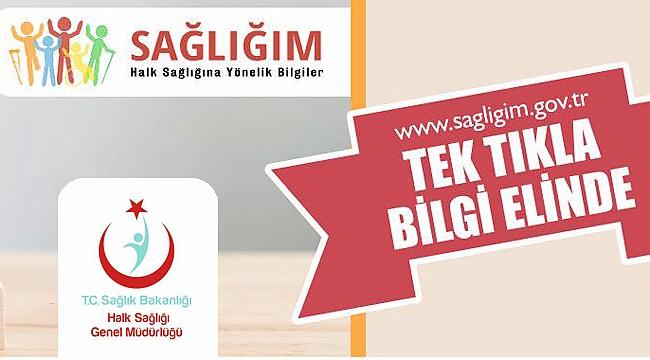 www.sagligim.gov.trweb sitesi yayın hayatına başladı