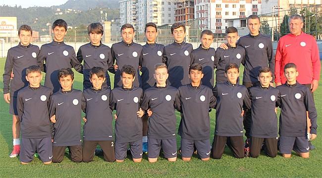 Çaykur Rizespor U14'ün sezon karnesi