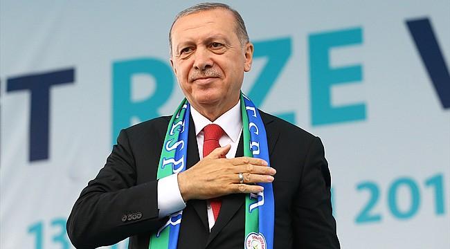 Cumhurbaşkanı Erdoğan, 2 Mart'ta Rize'ye geliyor