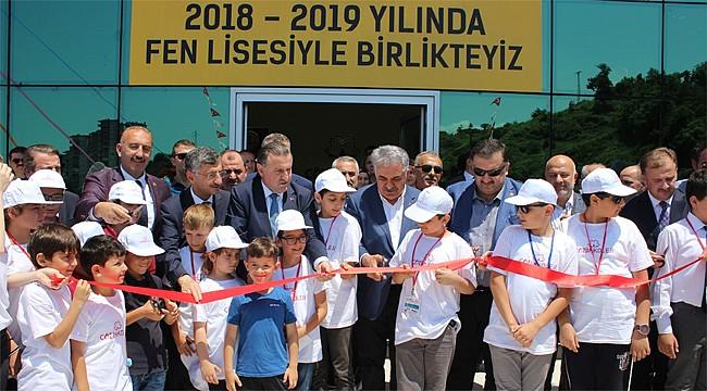 Hamidiye Çözüm Koleji Fen Lisesi'nin açılışı yapıldı