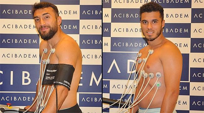 Orhan ve Mustafa sağlık kontrolünden geçti