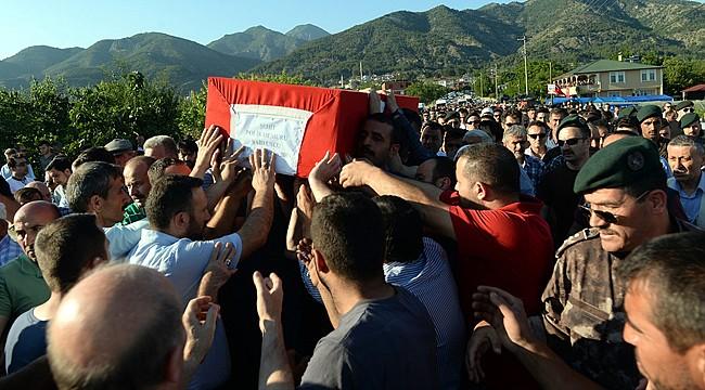 Şehit polis Said Uslu son yolculuğuna uğurlandı