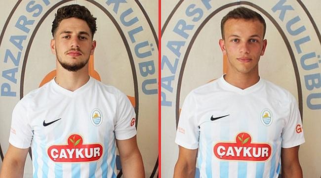 Pazarspor'da gençler sözleşme uzattı