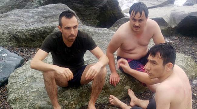 Rize'de boğulma tehlikesi geçiren genç kurtarıldı