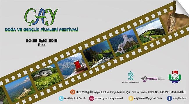 Rize'de 'Çay, Doğa ve Gençlik Filmleri Festivali' düzenleniyor
