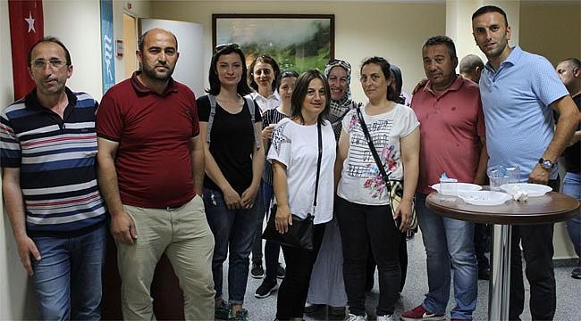 Rize'de Sağlık personeline 'İletişim' eğitimi verildi