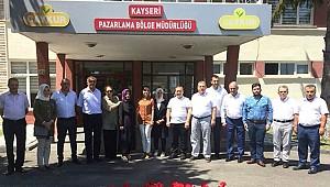 Alim Çaykur'un Bölge Müdürlüğü'nü ziyaret etti