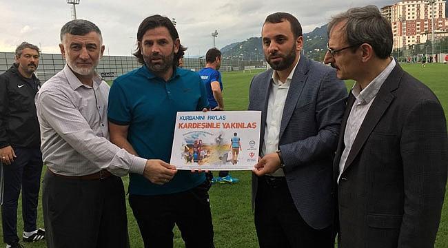 Çaykur Rizespor'dan Kurban Kampanyasına destek