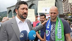 Güneysusporlu Sırp sporcudan Türk lirasına destek