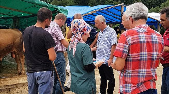 Rize'de kurban bayramı öncesinde bilgilendirme
