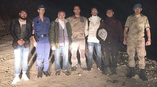 Rize'de yaylada kaybolan 3 kişi bulundu