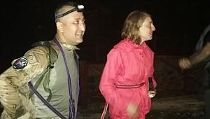 Rize'de yaylada kaybolan turistler bulundu