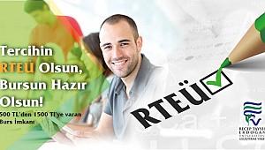 RTEÜ Geliştirme Vakfı'ndan Başarı Bursu fırsatı