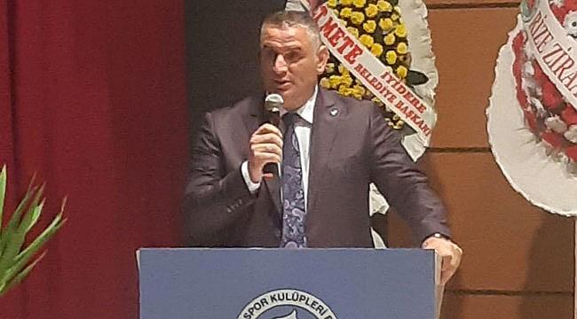 ASKF Rize'de Ali Çelik yeniden başkan seçildi