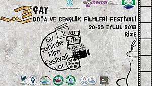 Çay, Doğa ve Gençlik Filmleri Festivali başlıyor
