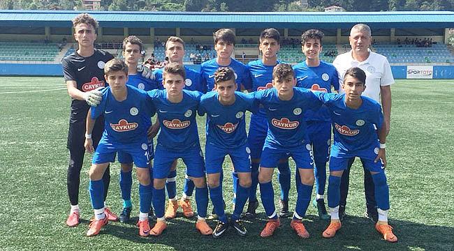 Çaykur Rizespor U15'den gol düellosu