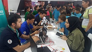 'KodlaRize' ekibi Teknofest İstanbul Festivalinde