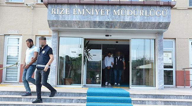 Rize'de telefon dolandırıcısı 2 kişi tutuklandı
