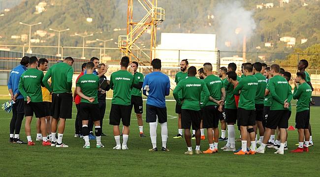 Takımı en iyi şekilde Bursaspor maçına hazırlıyoruz