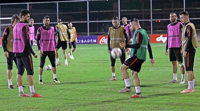 A Milli Futbol Takımı, Bosna Hersek maçına hazır