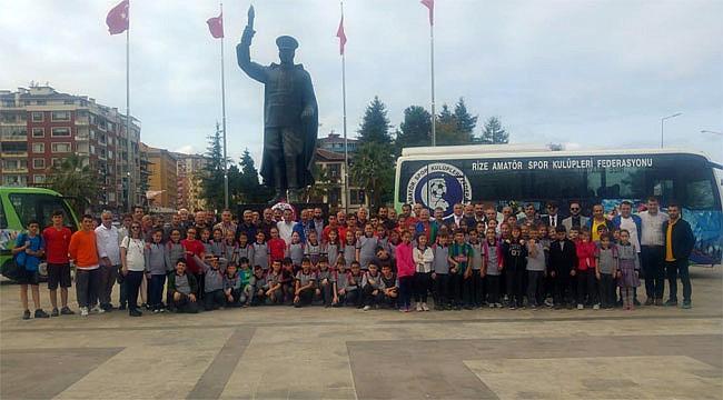 Amatör Spor Haftası Rize'de ilk kez kutlandı