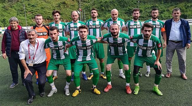Çamlıhemşin Belediyespor'dan 10 gollü galibiyet