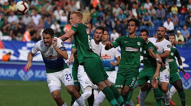 Çaykur Rizespor ile Konyaspor penaltılarla bitirdi
