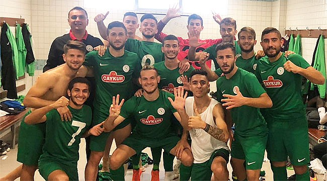 Çaykur Rizespor U21'den 5-3'lük gol şov
