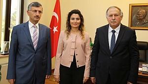 Rize ve Artvin Valisi Batum Başkonsolusunu ziyaret etti
