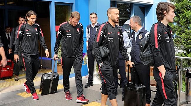 Türkiye A Milli Futbol Takımı Rize'de