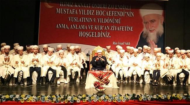 Zavendikli Mustafa Yıldız Hoca ölümünün 9. yılında anıldı