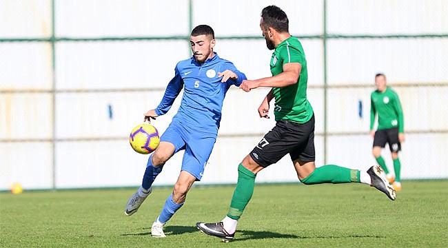 Çaykur Rizespor, U21 takımıyla hazırlandı
