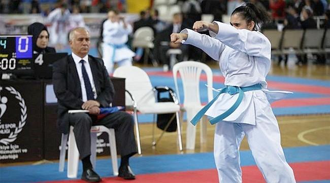 Karate Milli Takımı seçmeleri Rize'de devam ediyor