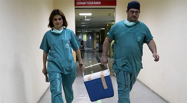 Rize'de 56 yaşındaki hastanın organları 6 hastaya ümit oldu