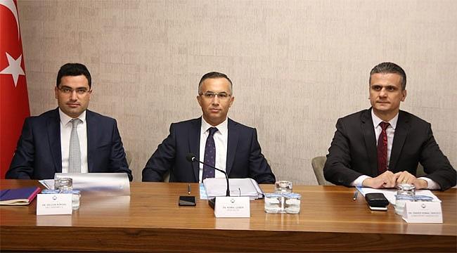 Rize'de Bağımlılıkla Mücadele Komisyonu toplandı