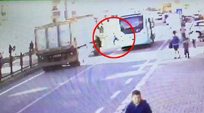 Rize'de kamyon 9 yaşındaki çocuğa çarptı