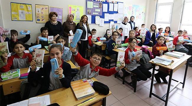 Rize'de Öğrencilere Ağız ve Diş Sağlığı Eğitimi verildi