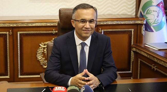 Rize'nin Yeni Valisi Kemal Çeber görevine başladı