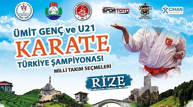 Türkiye Şampiyonası seçmeleri Rize'de yapılacak