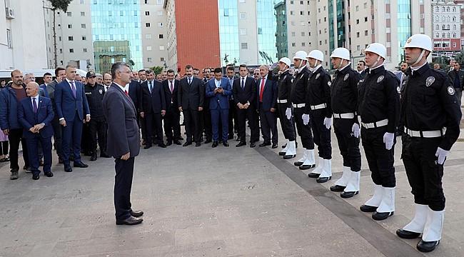 Vali Erdoğan Bektaş Rize'den ayrıldı