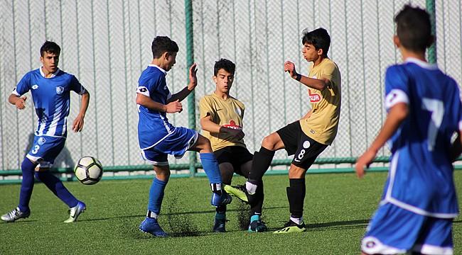 Çaykur Rizespor U15'den gol yağmuru: 7-0