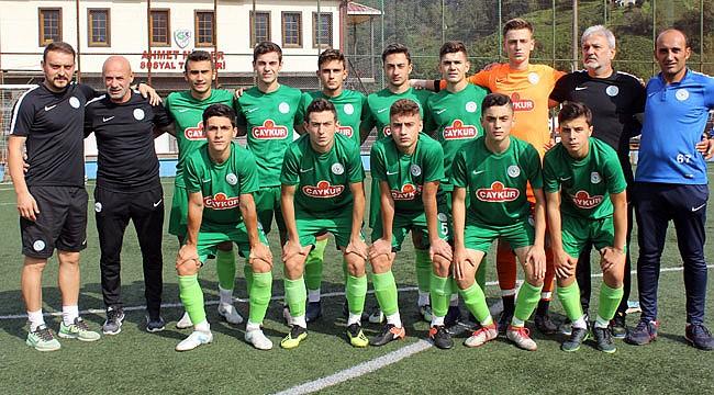 Çaykur Rizespor U16 ligin tozunu attırıyor